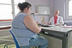 Consultation d'une personne souffrant d'obésité